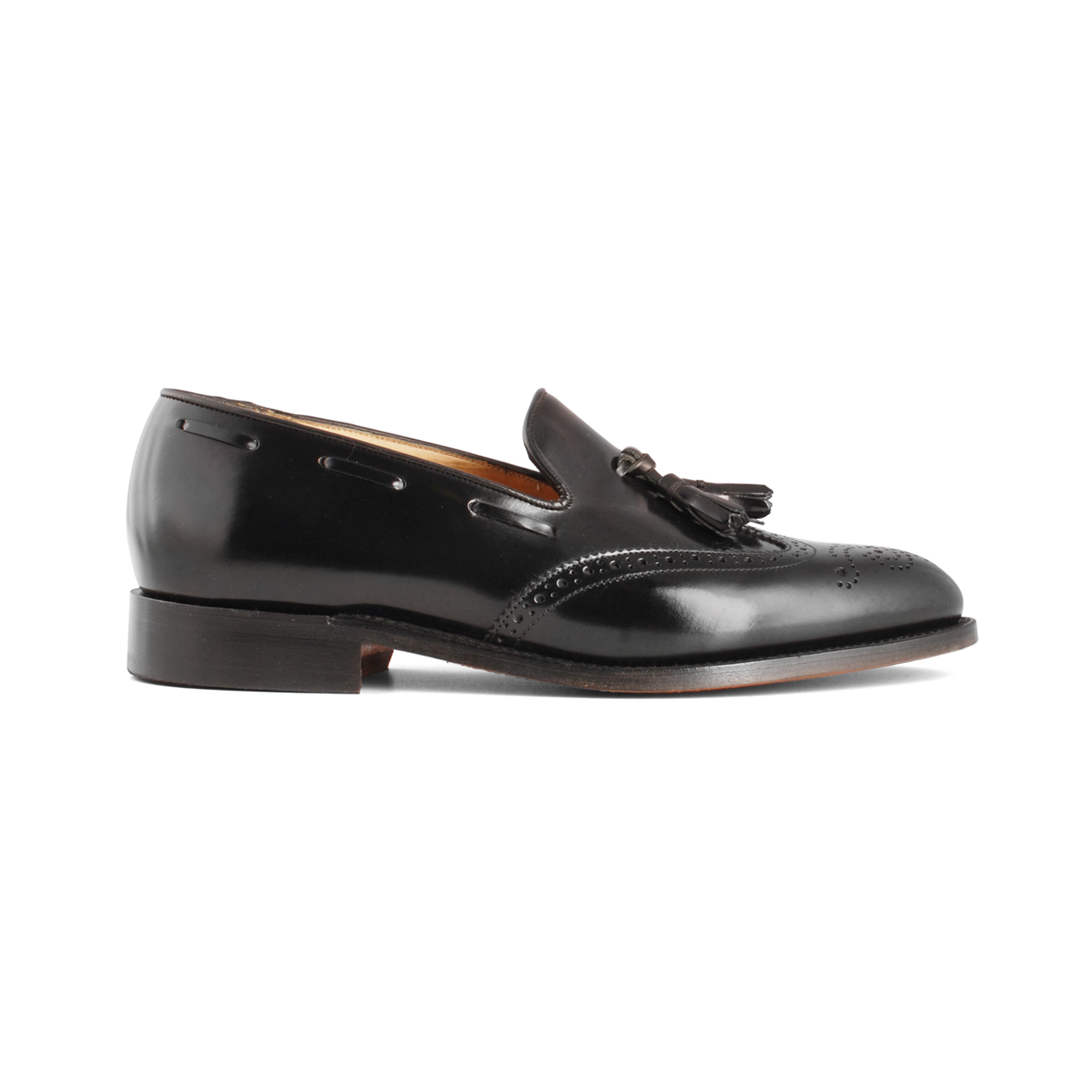 Barker Clive Black Hi-Shine shoes