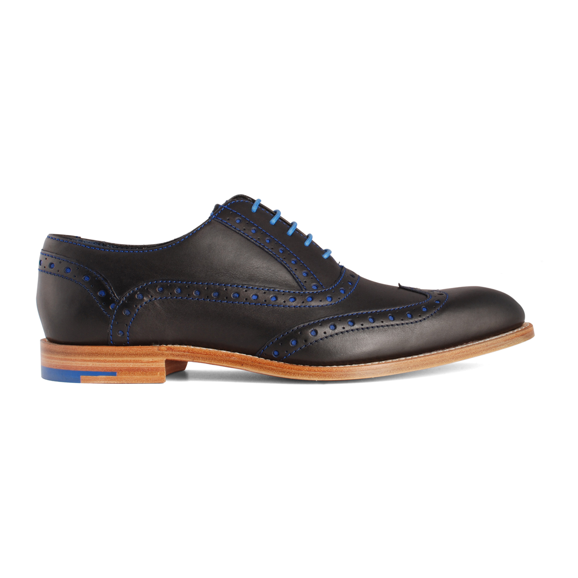 Barker Grant Navy Calf shoes