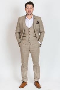 OWEN - Cream Tweed Suit